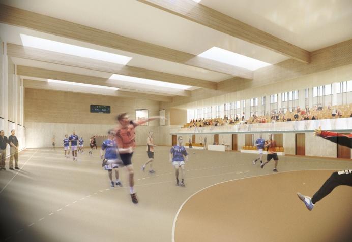 salle 233 v 233 nementielle atelier didier dalmas architectes associ 233 s 224 lyon